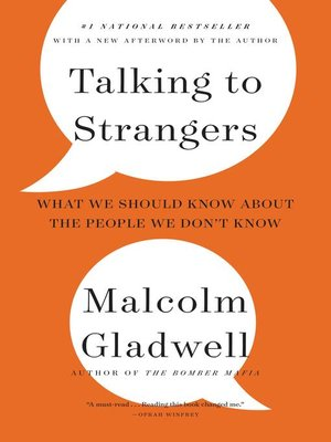 cover image of Talking to Strangers